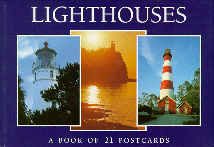 Lighthouses: A Book of 21 Postcards ()