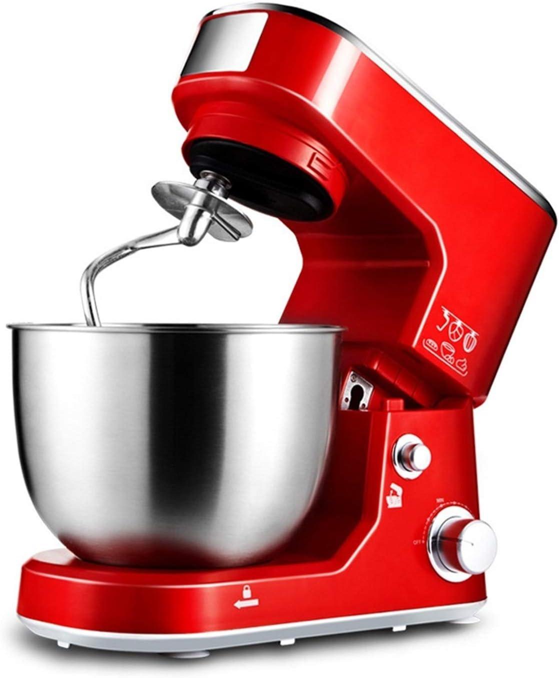 Batidora Amasadora Robot de Cocina Mastro de cocina eléctrica Máquina de la mezcladora de la mezcladora de la máquina de la cocina 1000W Motor eléctrico 5L de acero inoxidable de acero inoxidable Huev