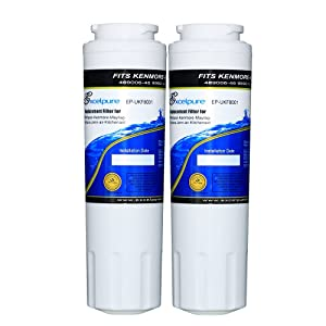 EXCELPURE EP-UKF8001 Replacement Refrigerator Water Filter, Compatible with Maytag UKF8001, UKF8001AXX, Kenmore 469006, 4396395, EDR4RXD1, Filter 4, Puriclean II, 3 Pack