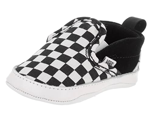 fashionablestyle clearance choose clearance Vans Infant Checker Slip-On Black/True White Crib Shoes