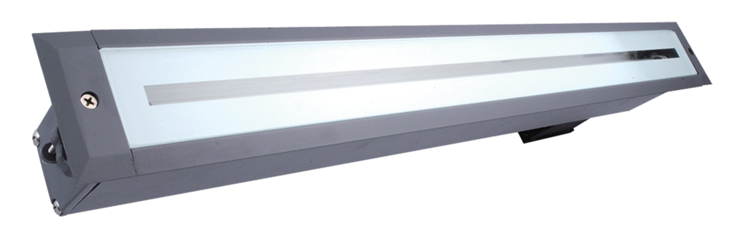 Eurofase 19550-015 1-Light In-Ground T5 14W Linear Up Light, Grey