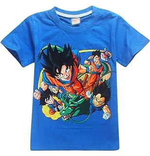 T-shirts, Hauts Cheap Price T-shirt Enfant God Goku Dragon Ball Super Cheveux Bleu Sangoku Dbz Manga Enfants: Vêtements, Access.