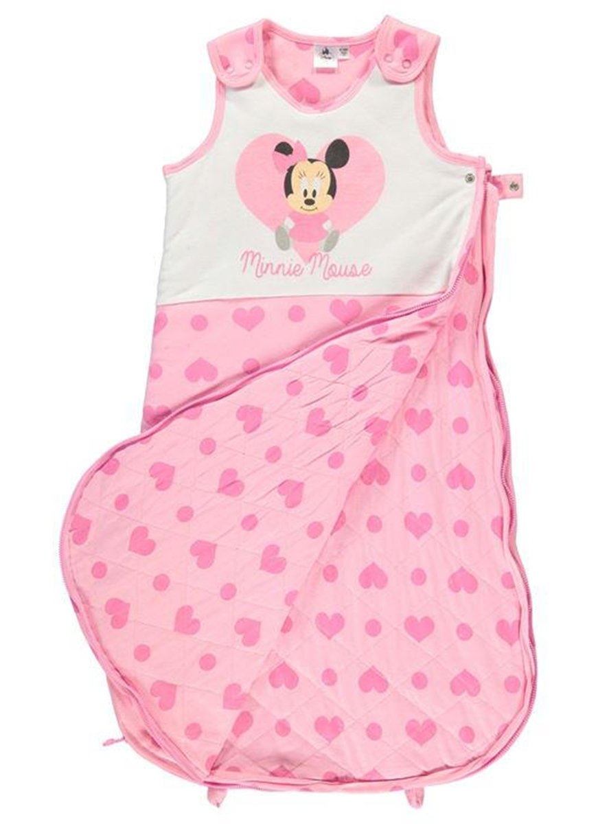 805a2f1b6841 Disney Mickey Mouse Jersey Sleeper Bag Infant Baby Blue Gry Growbag Sleeping  Bag 3-6 Months  Amazon.co.uk  Baby