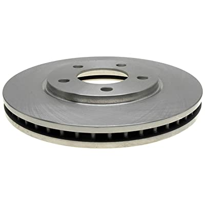 ACDelco 18A1248A Advantage Non-Coated Front Disc Brake Rotor: Automotive