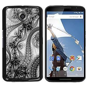 Qstar Arte & diseño plástico duro Fundas Cover Cubre Hard Case Cover para Motorola NEXUS 6 / X / Moto X Pro ( Wallpaper Design Pattern Art Fashion Inspiration)