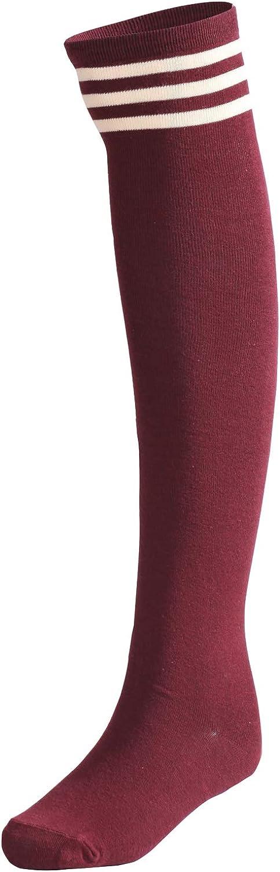 LittleForBig Gestreifte Kniestr/ümpfe Str/ümpfe Cosplay Socken