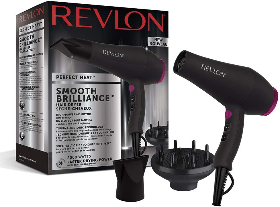 Revlon RVDR5251 Perfect Heat Smooth Brilliance - Secador de pelo ...