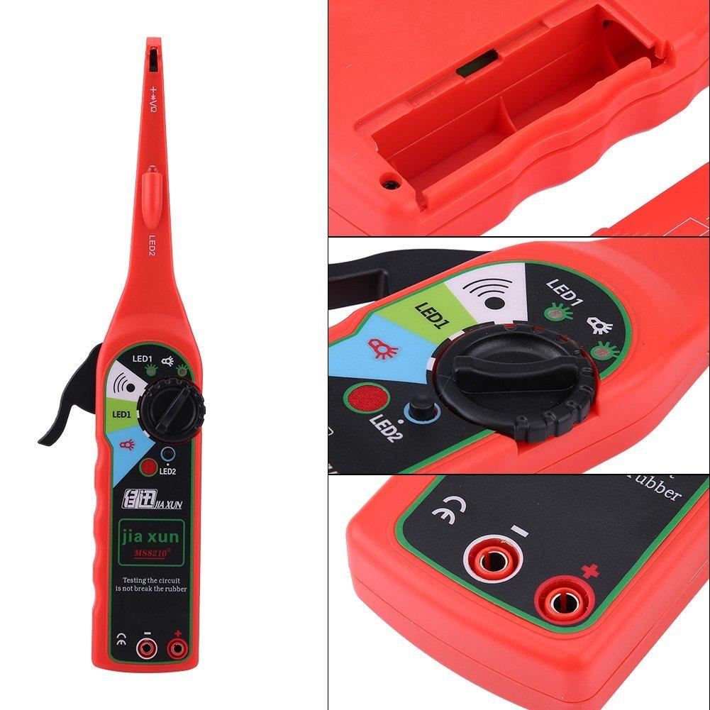 Qiilu Multifunction Auto Circuit Tester Multimeter Lamp Car Repair Electrical Diagnostic Tool by Qiilu (Image #2)