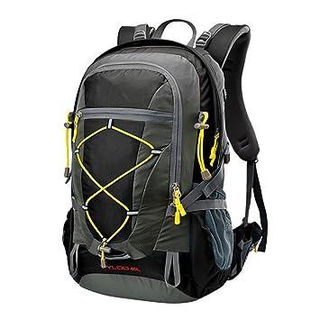 Xueyan Mochila de senderismo, 40 L, para viajes, 32 x 23 x 55 cm, color negro, tamaño 32*23*55cm: Amazon.es: Deportes y aire libre