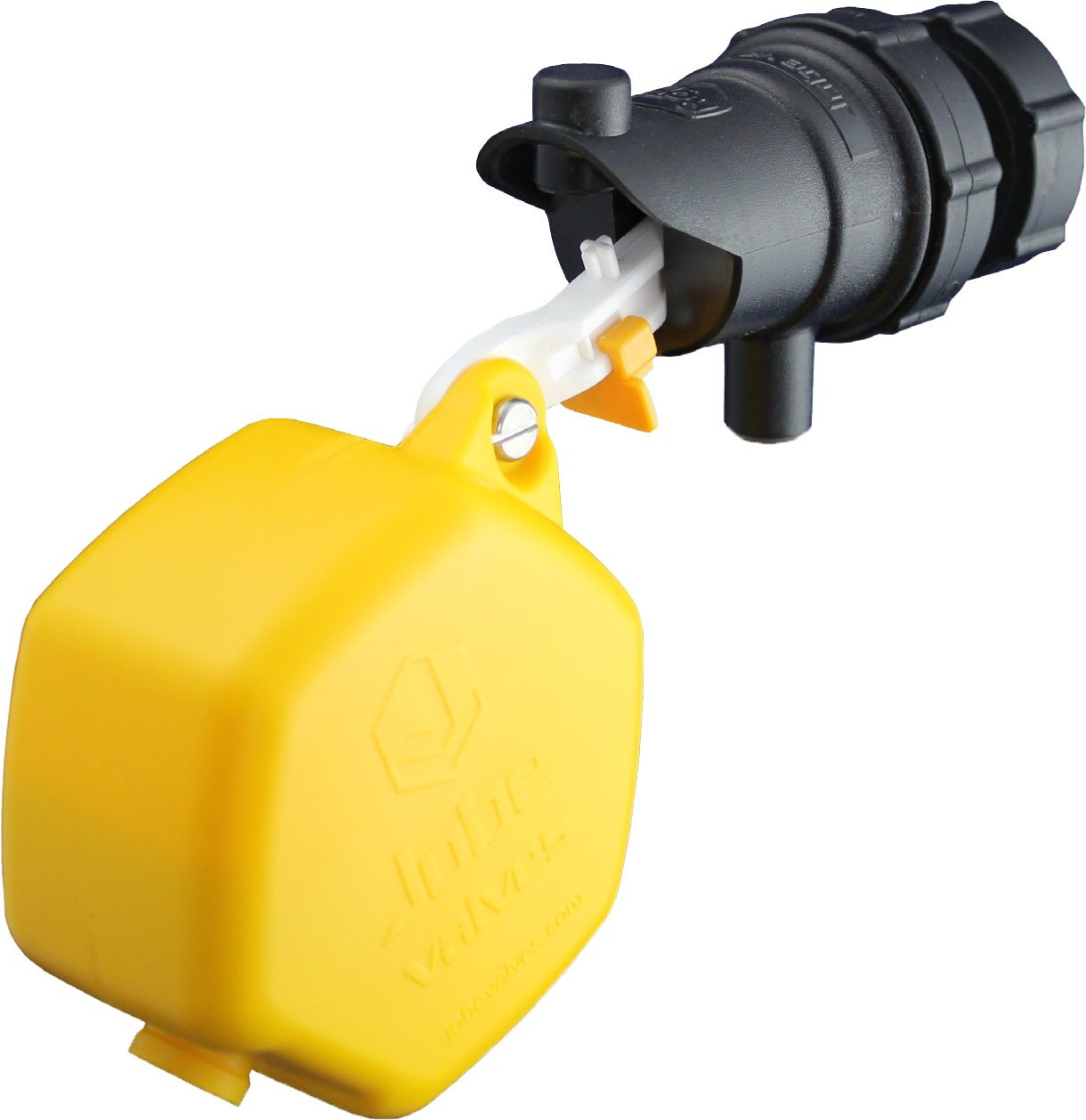 Jobe Valves Rojo Compact Float Valve, 3/4'', Yellow/Black by Jobe Valves