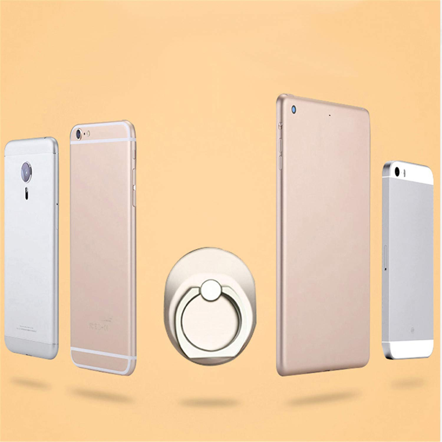Amazon.com: Zesoma Round Finger Phone Ring Holder Grip Mount Support for iPhone X 8 7 6 Plus 5Se Honor Note10 Huawei Nova 3I Smartphone Accessories Rose: ...