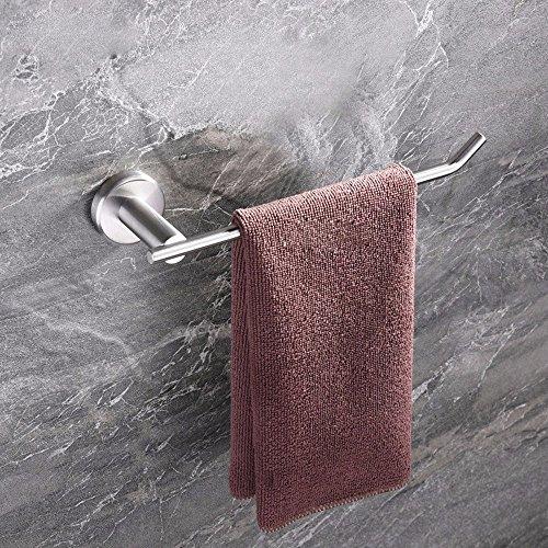 DHWM-Stainless steel brushed towel rail bathroom towel rack mount bath Bathroom Accessories