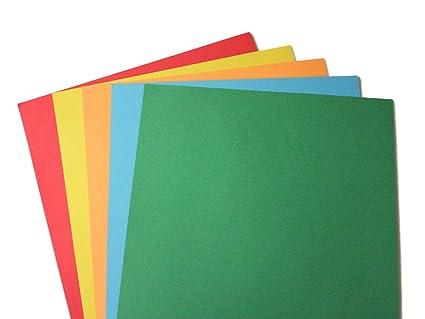 amazon com 24lb bond assorted rainbow brights colored paper