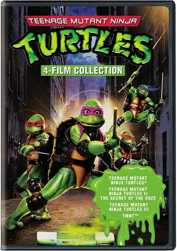 4 Film Favorites: Teenage Mutant Ninja Turtles (Teenage Mutant Ninja Turtles, Teenage Mutant Ninja Turtles 2, Teenage Mutant Ninja Turtles 3, TMNT) - Packaging may Vary
