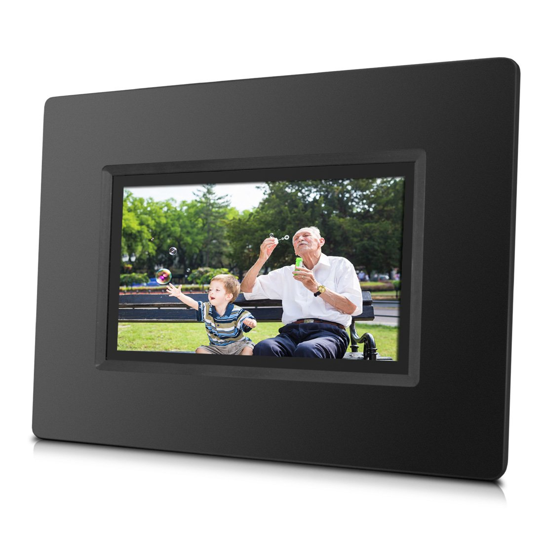 Amazon sungale cpf716 7 smart wi fi cloud digital photo amazon sungale cpf716 7 smart wi fi cloud digital photo frame with touch screen operation built in battery free cloud storage real time photos movie jeuxipadfo Gallery