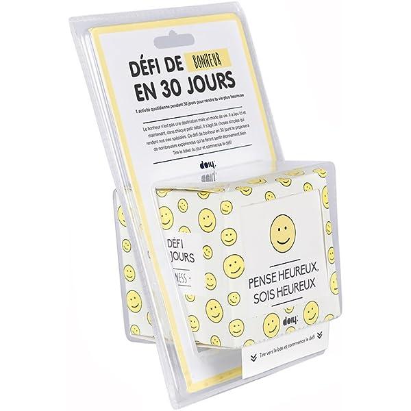 Doiy dychalhaf – 30 días Reto de la Felicidad Francés: Amazon.es: Hogar