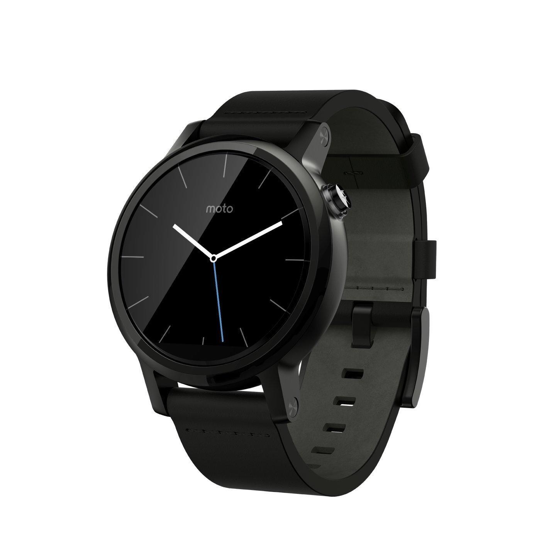 Motorola Moto 360 2 nd Gen Smartwatch 42 mm correa de cuero ...