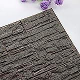 AMOFINY Home Decor DIY 3D Brick PE Foam Wallpaper Panels Room...