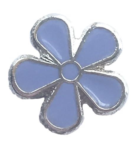 c8fbf54a80d Forget-Me-Not Flower Alzheimer's Awareness Enamel Pin Badge