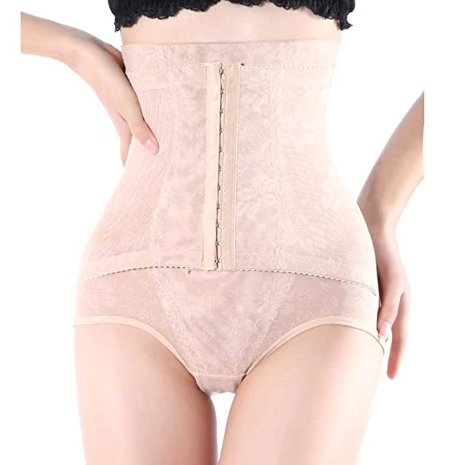 LVYING Seamless Control Panties Women High Waist Slimming Plus Size Tummy Underwear Body Shaper