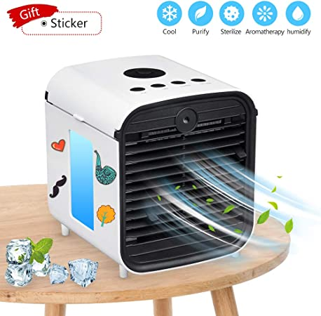 Sunbond Portable Air Conditioner, USB air Cooler, Humidifier