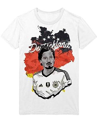 super popular 5b10d 1df59 Hypeshirt T-Shirt Deutschland Mats Hummels Fußball EM Europa Meisterschaft  UEFA Euro 2016 Trikot M161610
