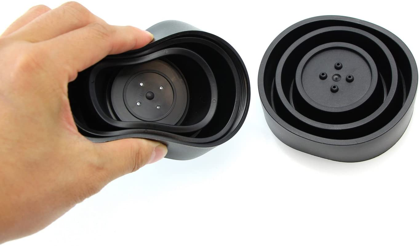 2 LED Headlights Bulbs iJDMTOY etc Aftermarket Headlamp Retrofit 80mm Rubber Housing Seal Caps Compatible With Headlight Install Xenon Headlight Kit