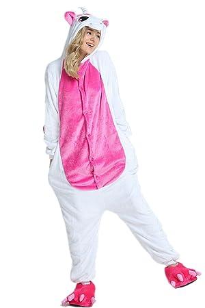 Kenmont Unisexo Adulto Pijama Traje Cosplay Animal Pyjamas Unicornio Animal Ropa de Dormir (Medium,