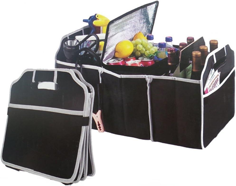 Negro WINOMO Bolsas para Maletero del Coche de Plegable para SUV Van coche cami/ón y casa