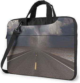 Bolso de Hombro para computadora portátil Estuche para computadora portátil Tornado Road Funda para computadora con manija, Bolsa Protectora de maletín de Negocios: Amazon.es: Electrónica