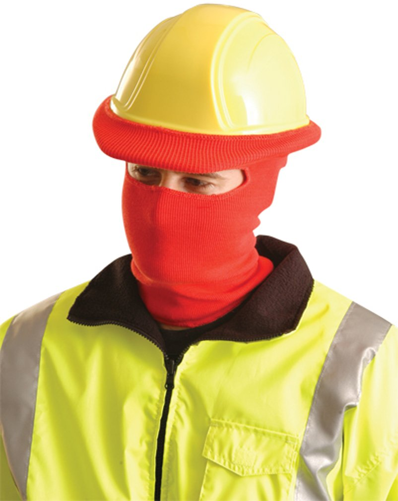 Stay Warm - Classic FULL FACE Hard Hat Tube Liner - RED-12-PACK by Haynesville
