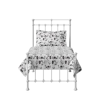 Original Bed Co Edwardian Iron Metal Bed Frame With High Grade