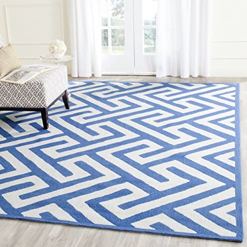 Safavieh Four Seasons Collection FRS241K Hand-Hooked Geometric Area Rug