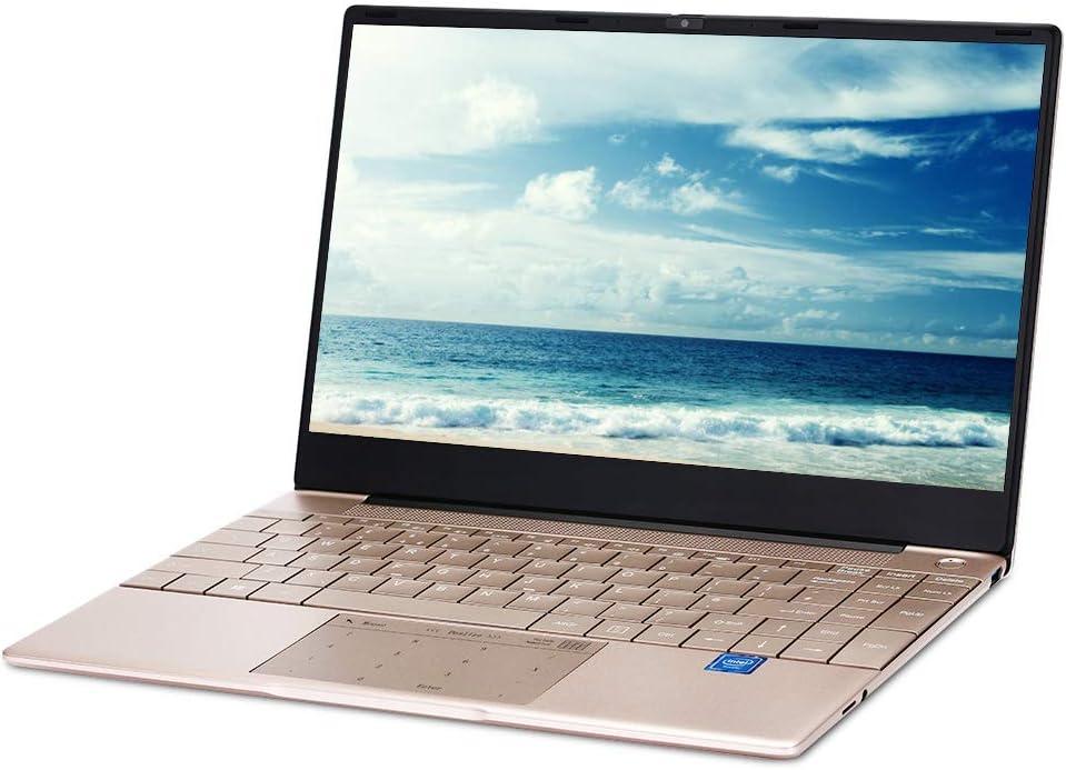 KUU K2 14.1 inch Laptop, Intel Celeron J4115 Quad Core Up to 2.5Ghz, 8GB RAM 512GB SSD Full-Size Ultra-Narrow Bezel Keyboard with Fingerprint Unlock Keyboard Backlight (8GB RAM+512GB SSD)