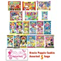 Assorted 5 bags Kracie Poppin' Cookin' DIY Gummy Candy Making Kit Takoyaki, Nerune, Ramen, Tsubupyon by Kracie
