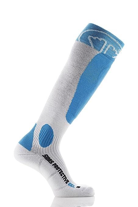 Sidas Protective Gel - Calcetines de esquí Unisex, Protective Gel, Azul