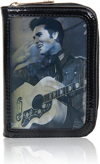 Zip Around Purse Elvis design