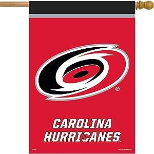 "Carolina Hurricanes House Flag Hockey Licensed 28"" x 40"""