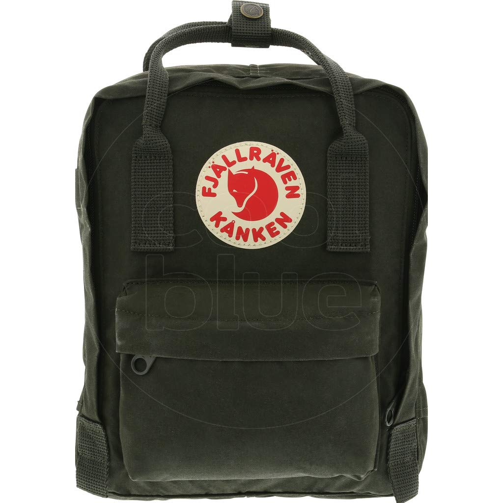 Fjallraven - Kanken Mini Classic Backpack for Everyday, Deep Forest by Fjallraven