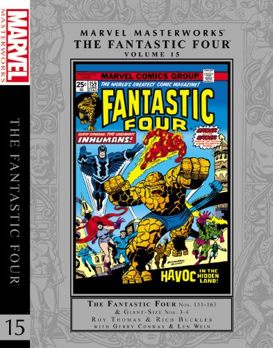 Marvel Masterworks: The Fantastic Four Volume 15 pdf