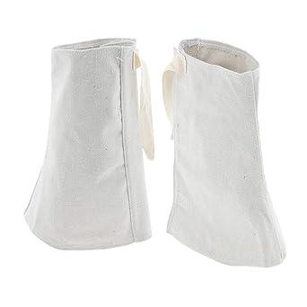 Baosity - 1 par de soldador de zapatos de soldadura resistente al calor para soldadores