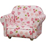Canapé Miniature pour Maison de Poupée 1/12 - Rose