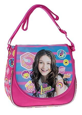 Disney Yo Soy Luna Bolso Bandolera, 4.01 litros, Color Rosa: Amazon.es: Equipaje