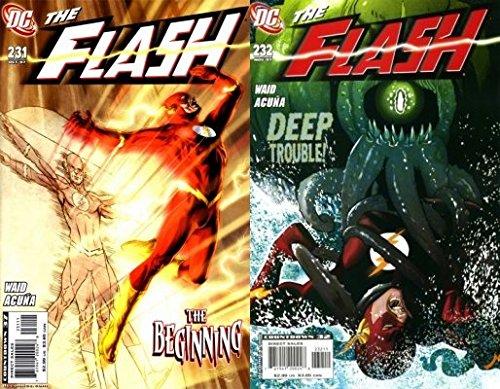The Flash #231-232 (1987-2009) Limited Series DC Comics - 2 Comics