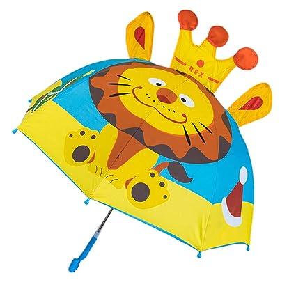 Paraguas para niños y niñas, diseño de Dibujos Animados con ...