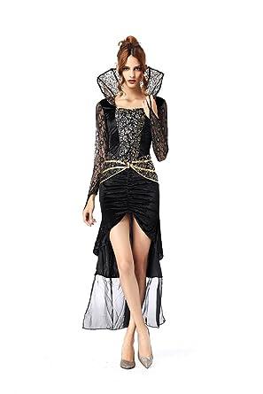 0bc1f70d64ef9 MAKE CHEERFUL 魔女 コスプレ 衣装 ドレス 仮装 大人 バラ柄