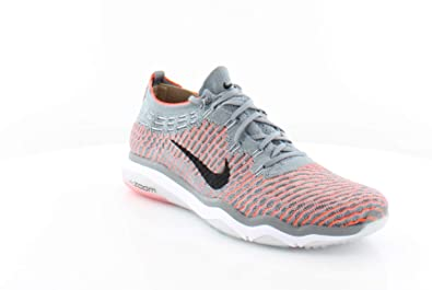 2fe16ff72b0 Nike Air Zoom Fearless Flyknit Baskets de Running 850426 Sneakers Chaussures  - Gris - Cool Grey
