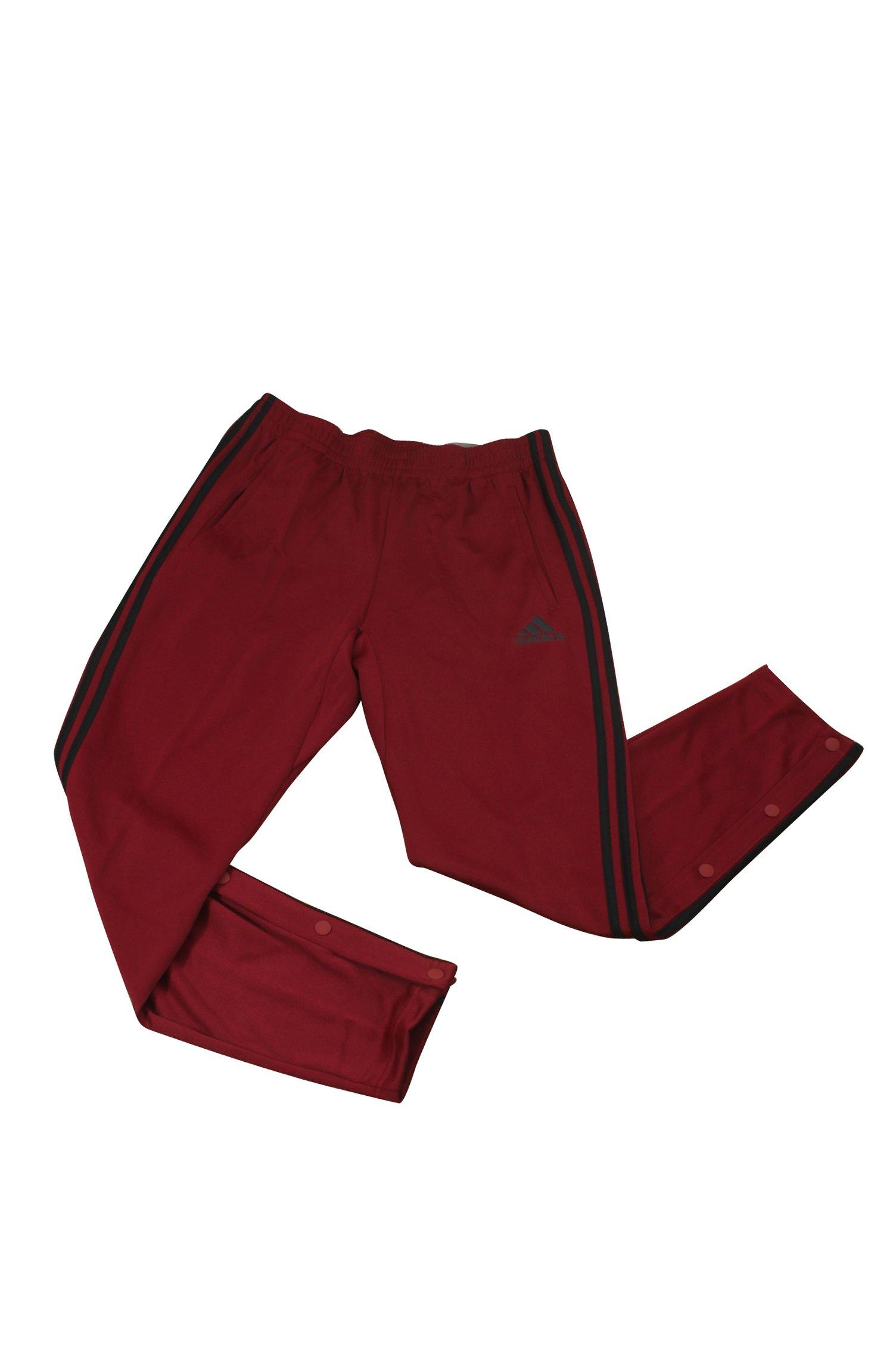 adidas Men's Sport ID Track Pants Collegiate Burgundy X-Large 29.5