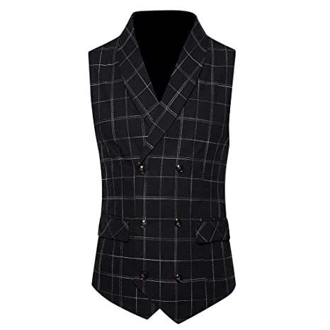 Business Casual 2020 Mens.2020 Men S Casual Slim Fit V Neck Suit Vests Leslily Fashion
