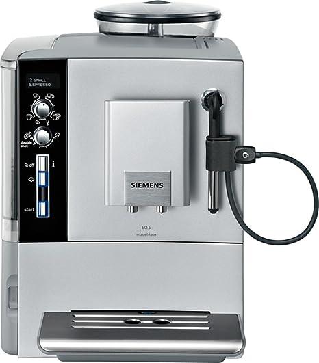 Siemens TE503201RW, Plata, 1 m, 1600 W, 50 - Máquina de café: Amazon.es: Hogar